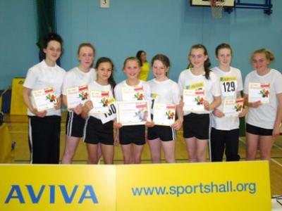 Triumph for Year 7 Sports Hall Athletics Team