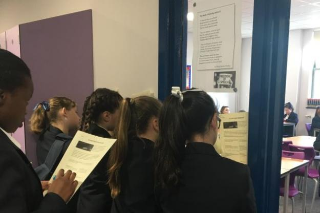 St. Julie's Celebrates National Poetry Day!