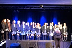 Harmonising at Catholic Choir Competition