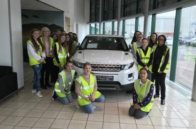 Jaguar Land Rover Visit for Scientists