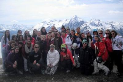 Easter Ski Trip Report