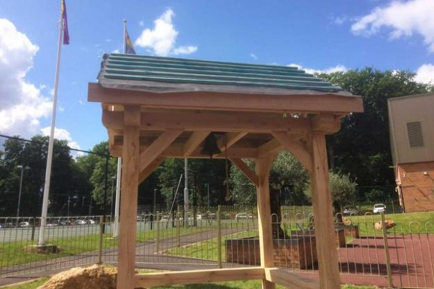 Raising The Rafters In Our Peace Garden