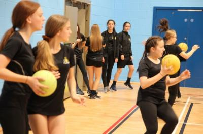Year 7 Duck, Dip, Dive and Dodge!