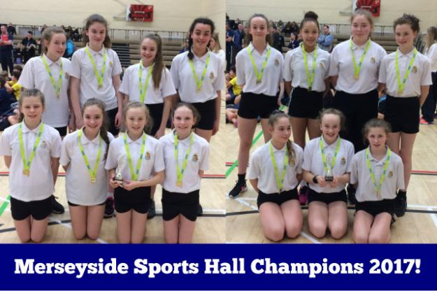 Merseyside Sports Hall Athletics Champions