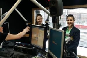 Students Record at Juice FM