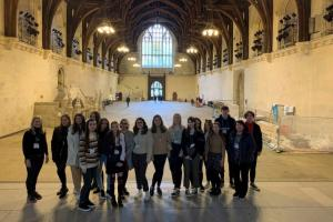 A Level Politics students take on Westminster!