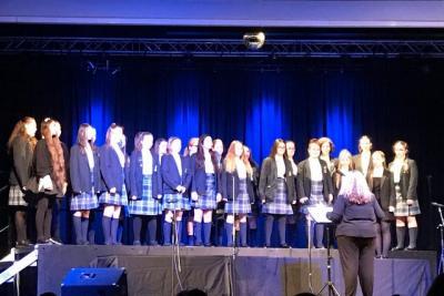 Harmonising at Catholic Choir Competition