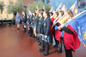 St Julie's Remembers