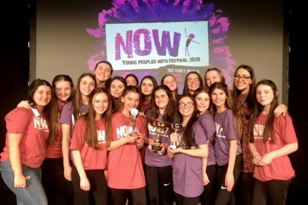 Drama Students Take Now Festival Triple Crown!