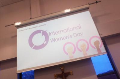9A Lead Into International Women's Day