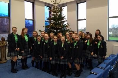 9 Nugent Share Christmas Spirit in Assembly