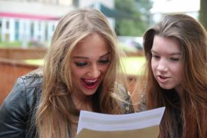 Students Celebrate GCSE Success!