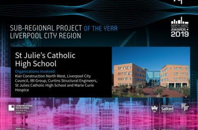 St. Julie's Building Shortlisted for Design Ward