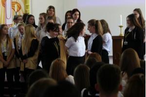 Year 13 Celebrate Leavers Mass