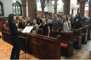 Students Perform at Marie Curie Memorial Service