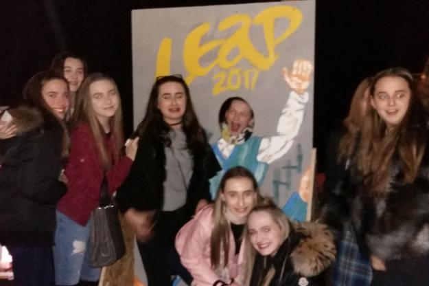 Dance Students Attend Leap 2017