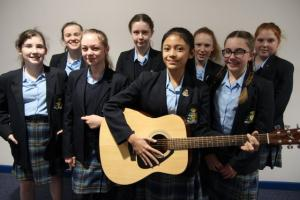Year 8 Busk for Cystic Fibrosis
