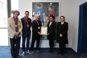 Presentation of Hillsborough Memorial Artwork