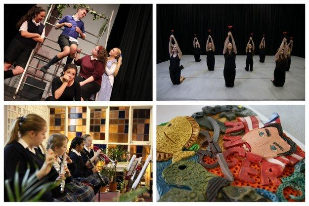 St. Julie's Strikes Gold With Expressive Arts!