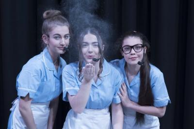 Year 13 Dazzle with 'Waitress'