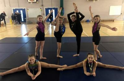 Going for Gold at Gymnastics