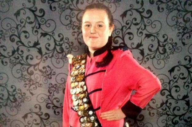 Year 11 Majorette Takes Blackpool Honours