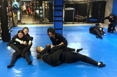 Grappling With New Skills