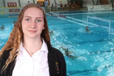 St. Julie's Student Represents GB!