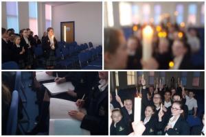 Illuminating the Paschal Candle