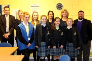 St. Julie's welcomes Cllr Nick Small and Deputy Mayor Ann O'Byrne