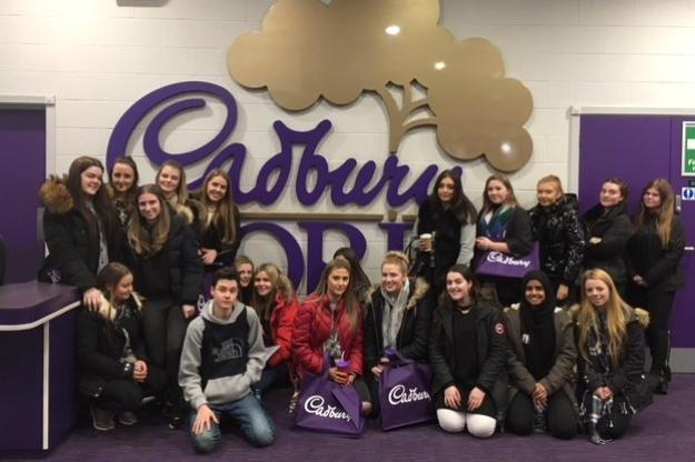 Sixth Form Devise Trip To Cadbury World