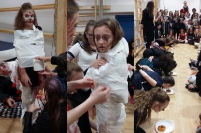 Students Fund Raise with Halloween Party!