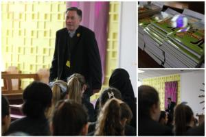 Father Tim Visits for Assembly