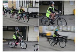 Year 7 Get On Their Bikes