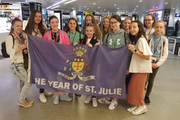 Flying the Flag for St. Julie