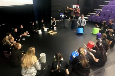 Primary Performing Arts Project Takes Flight