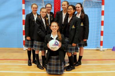 A Great Win for Year 7 Netballers