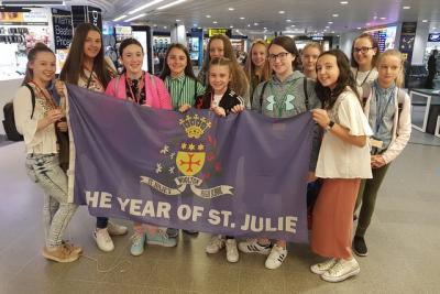 Flying the Flag for St. Julie