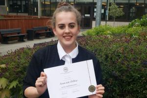 St. Julie's Student Celebrates Royal Commonwealth Society Fellowship!