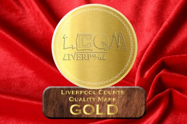 St. Julie's Celebrates Gold Liverpool Counts Award!