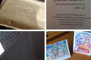 Christmas Cards to the Holy Land