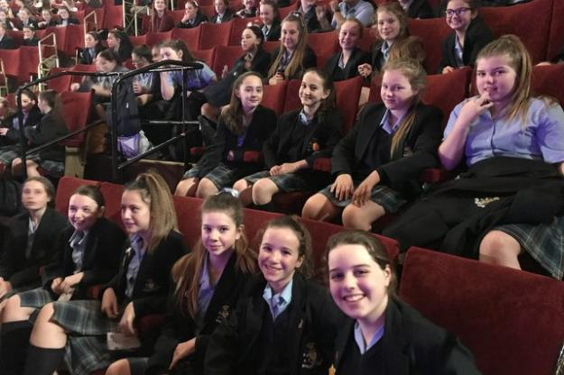 Curtain Up For Year 8 Students At Nativity