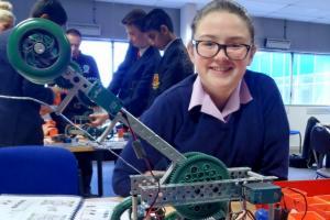 Year 10 Students Take Robotics Challenge