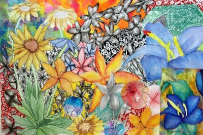 Pop Up Exhibition for GCSE Artists