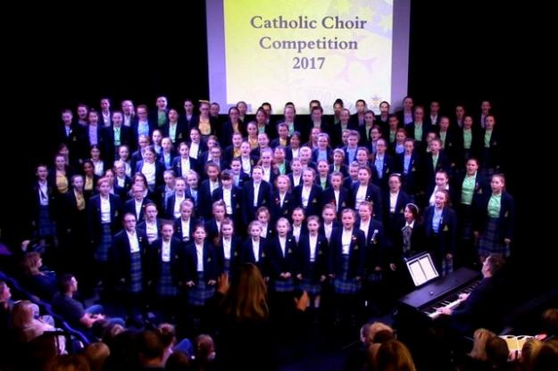 St. Julie's Hosts Catholic Choir Competition