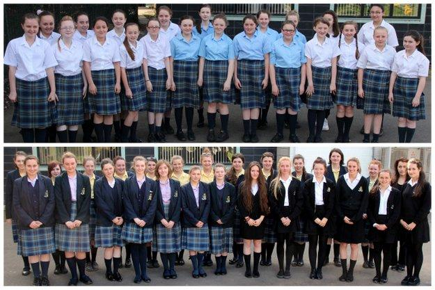 School Choirs On Song at Wirral Festival