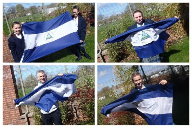 Flying the flag for education in Nicaragua