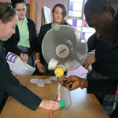 Year 9 Students Harness Wind Power
