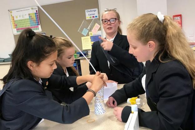 Towering Success in Science Club!