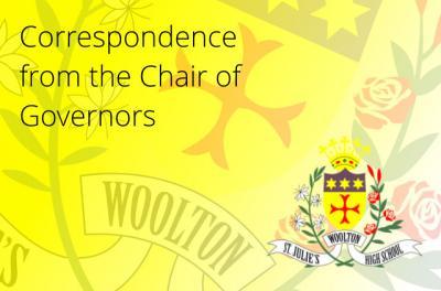 Correspondence from the Chair of Governors